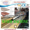 WPC Deck Floor / Garden Fence / Post / Hand Railings Profile Machine
