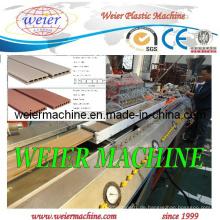 WPC Deck Boden / Garten Zaun / Post / Hand Geländer Profil Maschine