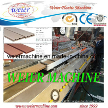 WPC Deck Floor/Garden Fence/Post/ Hand Railings Profile Machine