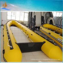 Charef jaune couleur PVC bateaux pour les bateaux de pêche haut de qualité et bon marché de vente