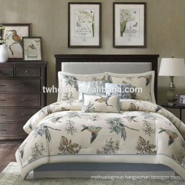 Madison Park Quincy Comforter Duvet Cover Print Khaki Bedding Set