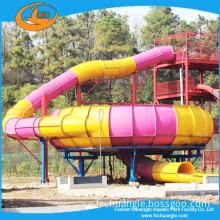 Fiberglass water slides huge water park slides for summer holiday