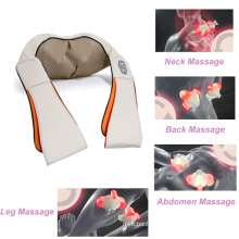 Rechargeable Wireless Heating Shiatsu Massage Belt Body Massager