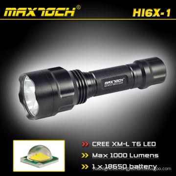 Maximoch HI6X-1 Cree recargable poder Cree XM-L T6 5-modo linterna