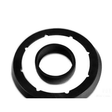 Anéis de vedação de borracha de silicone preto elástico NBR EPDM FKM