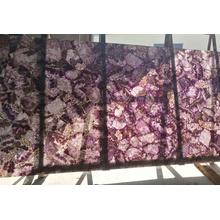 dalles d'améthyste de pierre de cristal violet