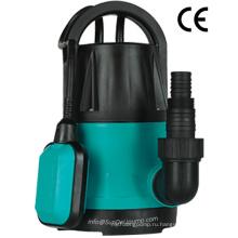 400W пластиковые сад погружной насос с поплавковым выключателем для чистой воды