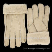 extreme cold weather sheepskin gloves