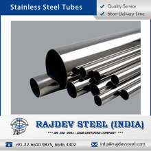 Perfect Polishing Material Stainless Steel Tube with High Flexibility at Low Price