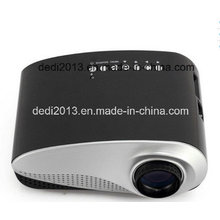 LED Cinema Projector LED Multimedia Portable Video Pico Small Mini LED Projector with USB SD AV VGA