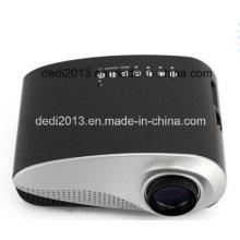 LED Cinema Projector LED Multimídia Vídeo portátil Pico Small Mini projetor LED com USB SD AV VGA
