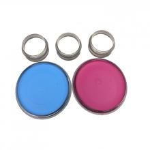 Runde waschbare Gesichtsfarben-Kits für Kinder