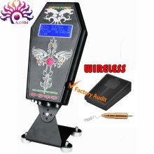 El poder inteligente digital sin hilos del tatuaje del LED une la fuente para la máquina del tatuaje