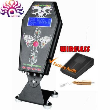 Poder inteligente digital sem fio do tatuagem do diodo emissor de luz unir a fonte para a máquina do tatuagem