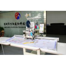 Wonyo computarizada máquina de bordado de una sola cabeza 15 Color Área grande Wy1501 / 1201cl
