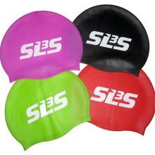 Bonnet de bain silicone personnalisé durable