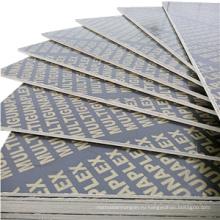 При минимальном использовании 7-8 штук строительной фанеры с черным / коричневым цветом