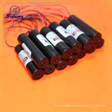 Linha vermelha módulo de alta tensão do laser 650nm da fonte de alimentação do laser