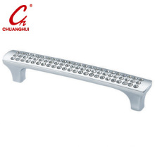 Furniture Hardware Cabinet Zinc Alloy Crystal Handle