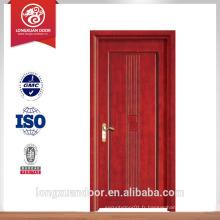 Vente de portes françaises en bois pour la porte de la porte de la villa, porte shengyi