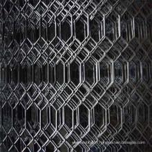 Type expansé en maille gothique galvanisé