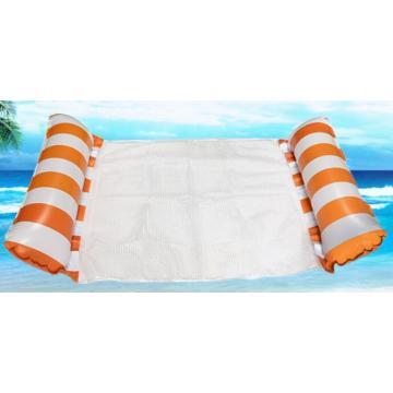 Aufblasbare Mesh-tragbare Schwimmbett-Wasser-Hängematte