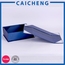 Creative paper flat pack folding box cardboard gift box with lid