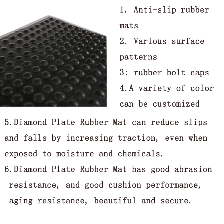 Composite Rubber Floor Mats