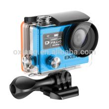 H8R Pro Filmadora Submarina 4K / 30FPS Câmera Ambarella A12 SONY Sensor Helmet Camera 2.4ghz Controle Remoto wi-fi esportes