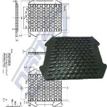 Carril Pad (ISO 9001: 2008)