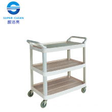 Large Dinner Trolley, Janitor Cart for Restaurant Without Bucket