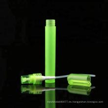 Perfume de la forma de la pluma de 3ml 5ml 10ml usado tubo de ensayo plástico con el tapón de tuerca