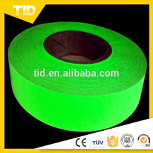 2'' width grow tape, safety at night, glow in the dark
