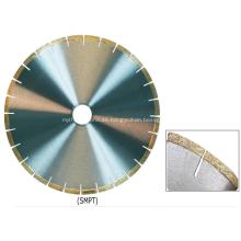 Hoja de sierra de diamante de 105 mm a 900 mm para mármol