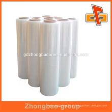 Transparente PE filme plástico stretch para a fabricação de paletes em guangzhou