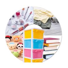 Armário de guarda-roupa de plástico gaveta de armazenamento com alta qualidade