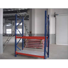 Étagère de rangement en métal robuste pour entrepôt