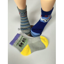 100% Cotton Design Funny Children Kids Boys Socks