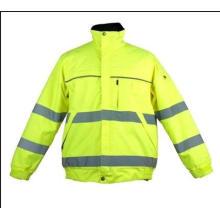 Chaqueta de seguridad Surveyor con bolsillo trasero