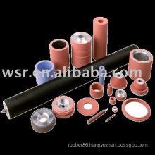 rubber roller for industrial, office, home appliance use