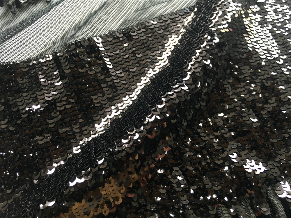 Fring Sequin Embroidery Fabric