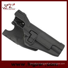 Airsoft Tactical CQC Rh Paddle Holster for Colt 1911 M1911 with Xiphos Light Bk