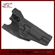 Airsoft CQC tactique Rh Paddle Holster pour M1911 Colt 1911 avec Xiphos lumière Bk