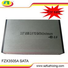 "3.5""SATA USB 2.0 HDD Hard Disk Drive External Case"