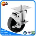 Wheel Lock Braked 4inch PP Swivel Caster