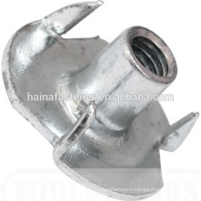 High quality hot sale furniture four claw nut,four claw tee nut, four prongs tee nut