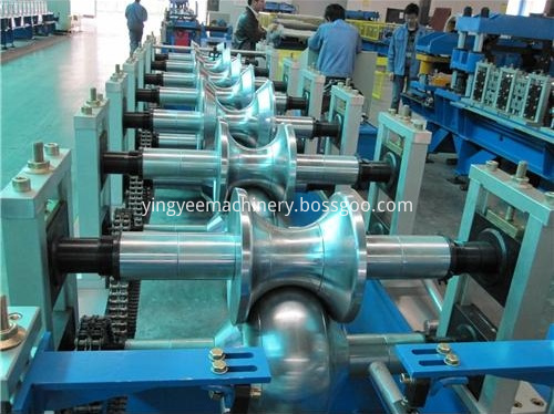 ridge cap tile roll forming machine