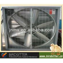 La vente en gros de volailles utilise le système de ventilation agricole