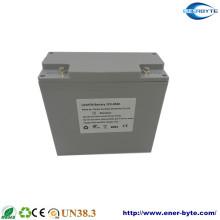 Caso selado LiFePO4 Bateria de lítio 12V 20ah