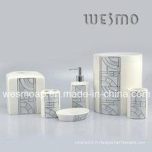 Accessoire de bain grillé en porcelaine (WBC0503A)